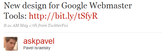 ניתוח טוויט ברמת ה- on-site seo factors