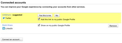 אינטגרציה בין חשבון גוגל לרשתות חברתיות