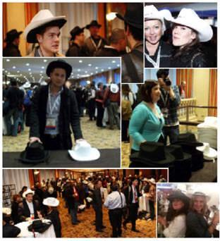 מסיבת כובע שחור-כובע לבן