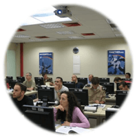 כיתת לימוד של קורס קידום אתרים במכללת נס