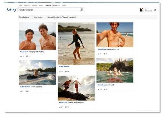 חיפוש תמונות פייסבוק בבינג