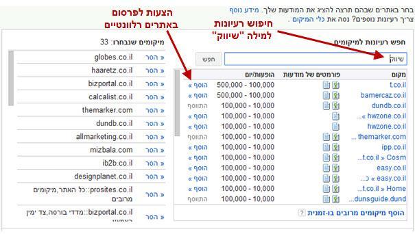 רשת המדיה של גוגל באדוורדס