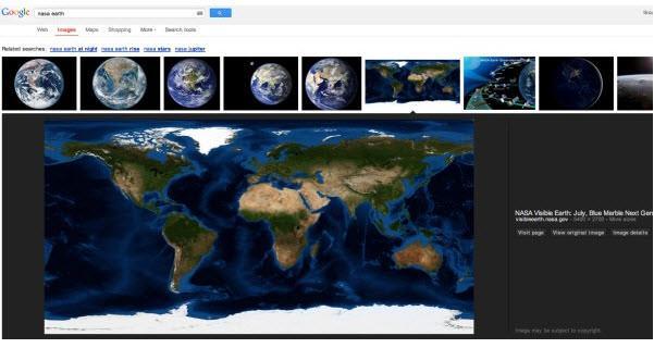 חיפוש תמונות חדש בגוגל