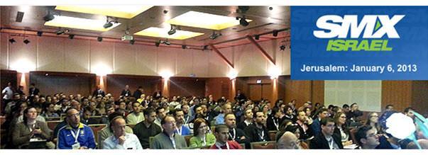 כנס SMX ישראל 2013