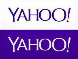 הלוגו החדש של יאהו