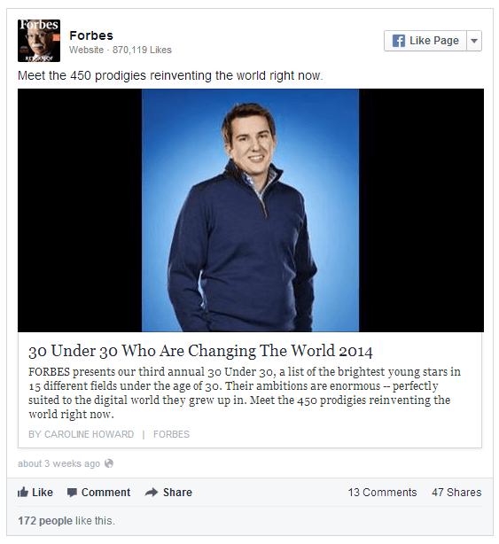 סטטוס בפייסבוק