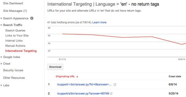 שגיאות באתרים מרובי שפות