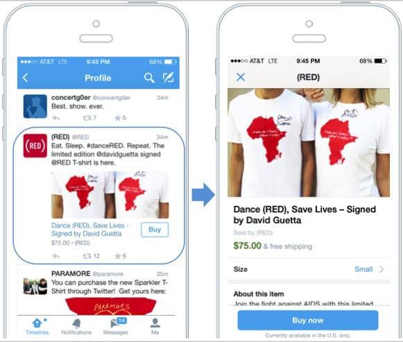 קנייה בטוויטר