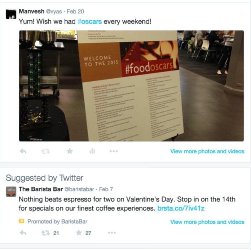 פרסום בדפי משתמשים בטוויטר