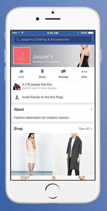 קנייה בפייסבוק