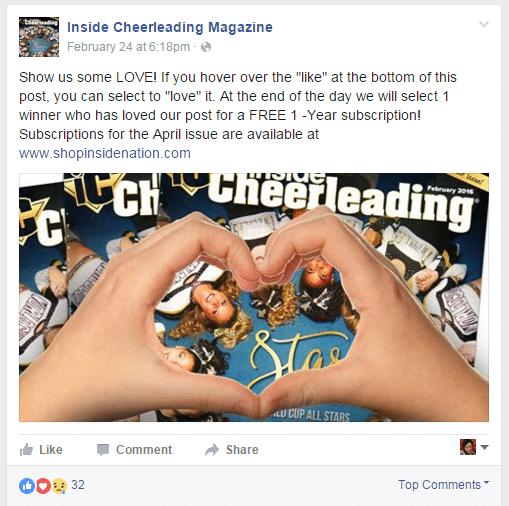 Inside Cheerleading Magazine