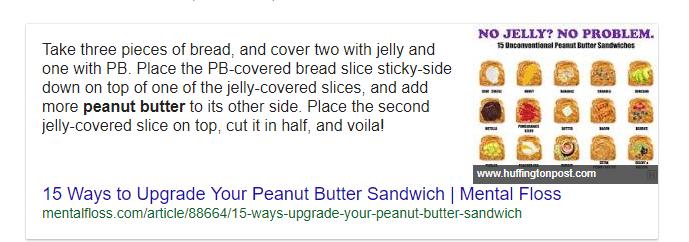 כריך חמאת בוטנים