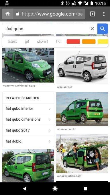 הצעות לחיפוש תמונות