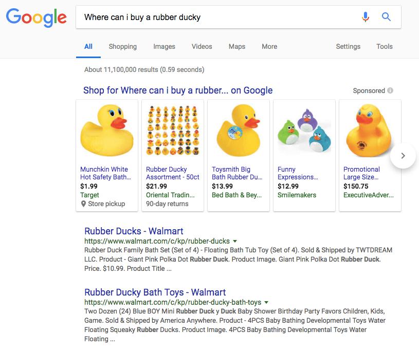 גוגל ו-Wallmart