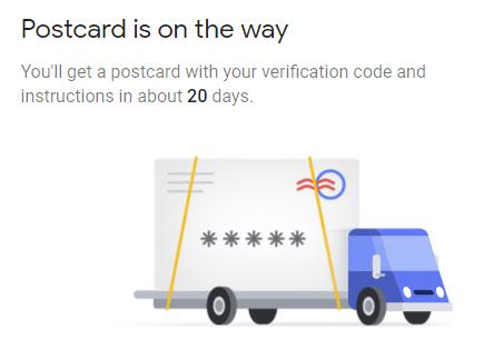 שולחים קוד בדואר