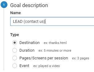 כל האפשרויות ליצירת goals באנליטיקס (כולל איוונטים)