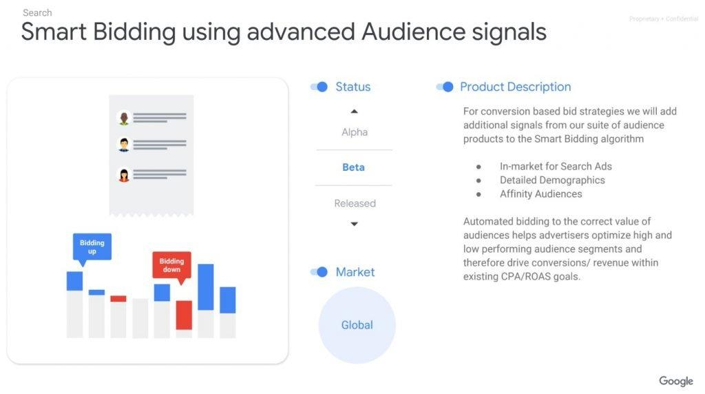 Smart Bidding Using Advanced Audience Signals