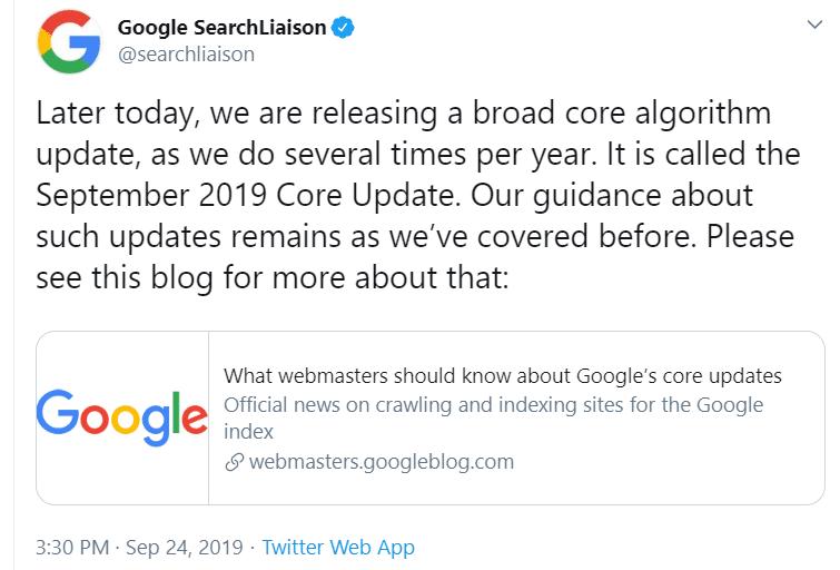 ההכרזה של גוגל