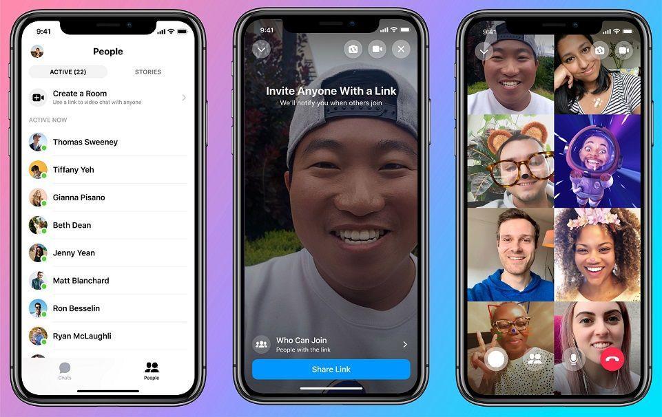 Messenger Rooms - שיחות וידאו בפייסבוק מסנג'ר