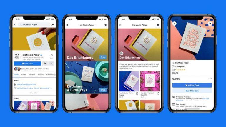 פייסבוק שופס - חנות באינטרנט בחינם
